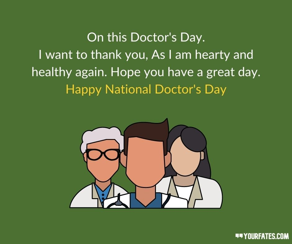 Happy National Doctor Day Wishes