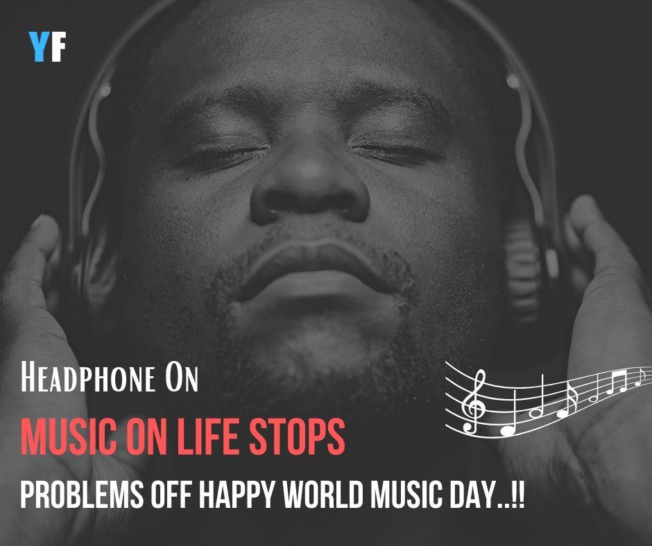 Happy World Music Day status