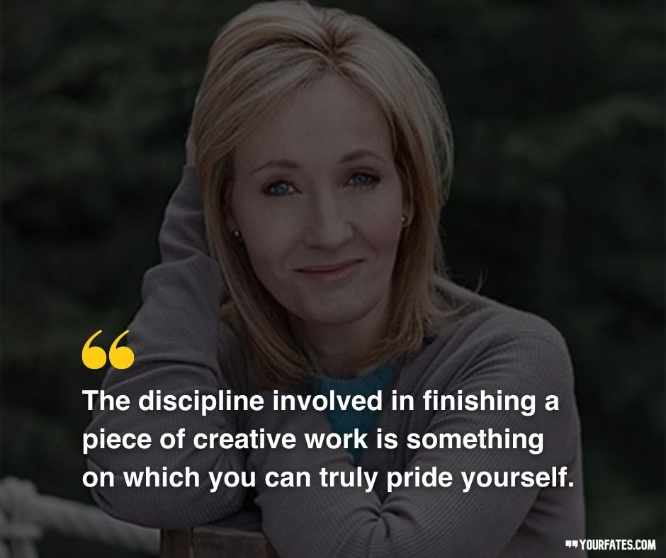 JK Rowling Quotes on discipline