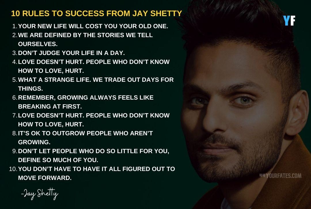 Jay Shetty success rule