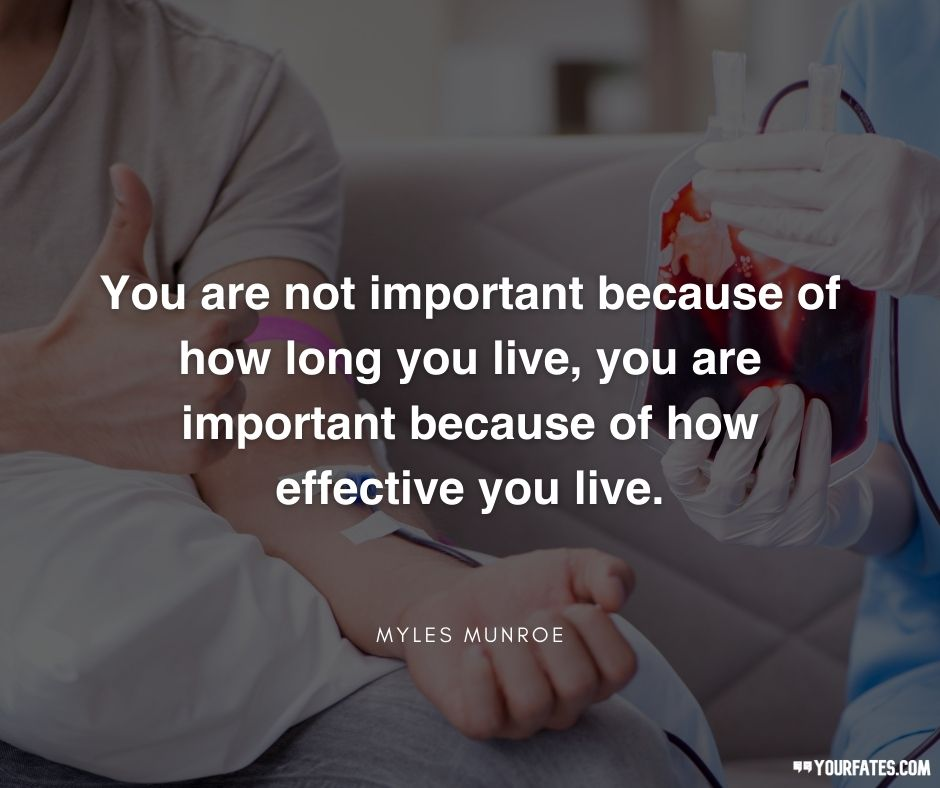 World Blood Donor Day Quotes