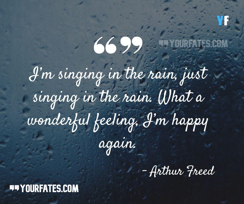 enjoying rain quotes