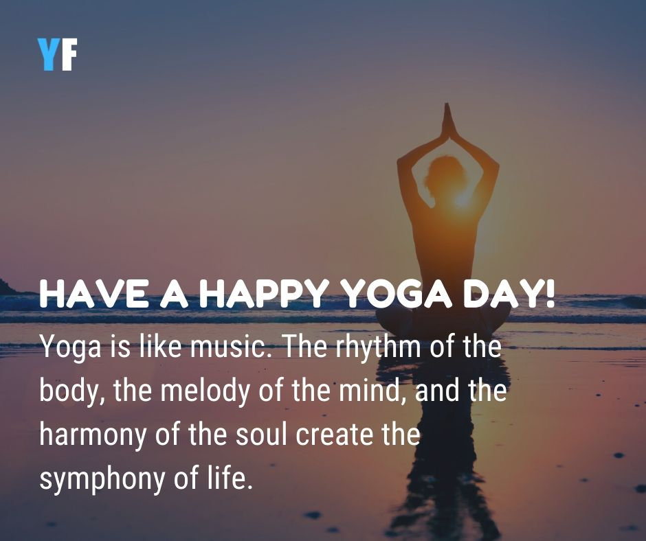 yoga day wishes