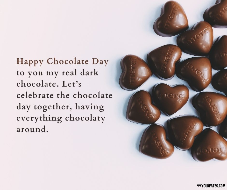 Chocolate Day Wishes for boyfriend