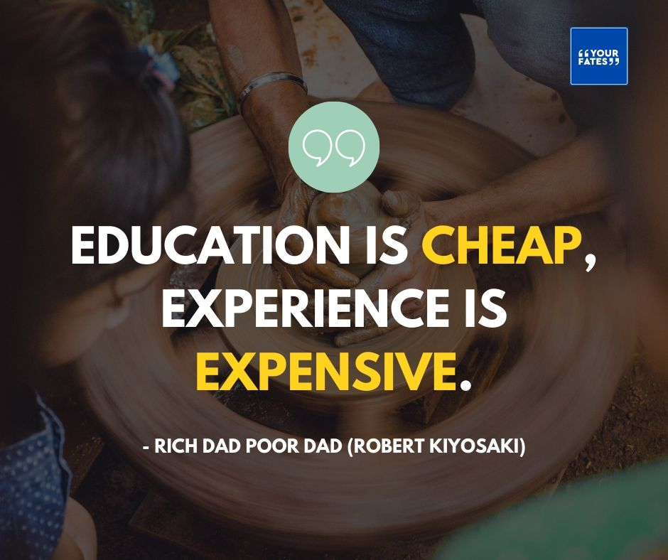 Quotes from Rich Dad Poor Dad Book
