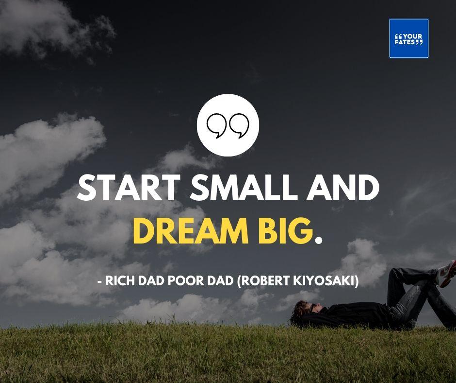 rich dad, poor dad quotes in english