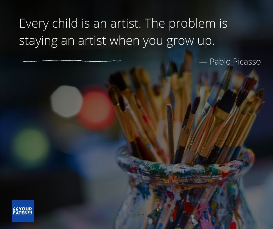 Pablo Picasso Quotes on creativity