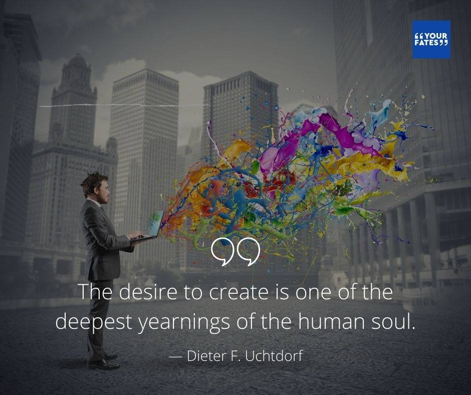 creativity Quotes by Dieter F. Uchtdorf