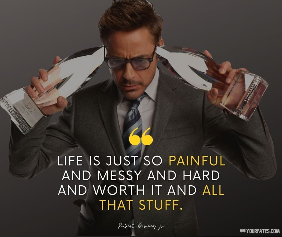 robert downey jr. thoughts
