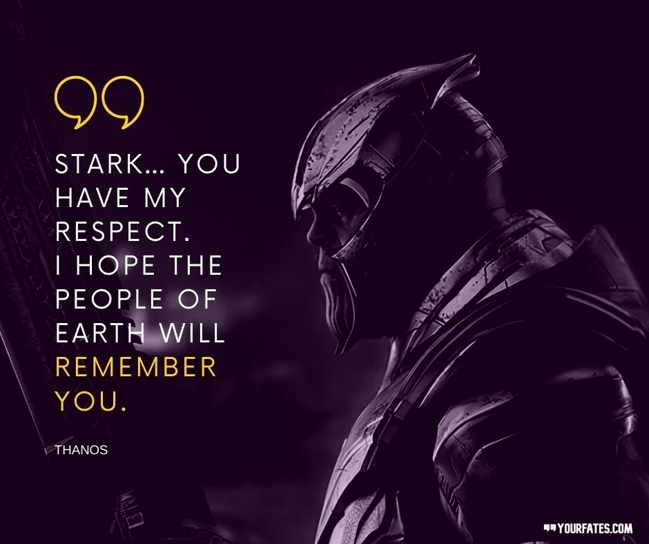 Best Thanos Quotes