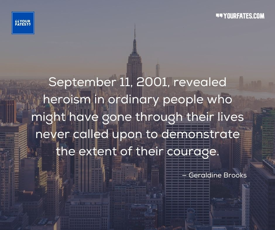 9/11 quotes never forget