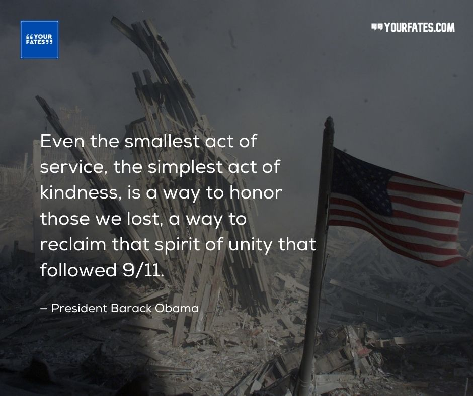9-11 Quotes by Barack Obama
