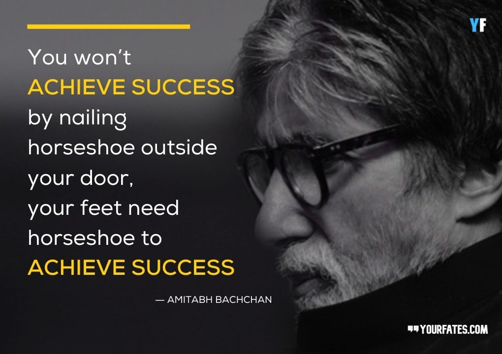 amitabh bachchan quotes on success