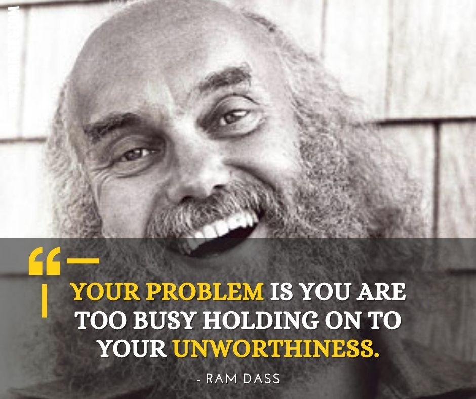Baba Ram Dass Quotes on faith