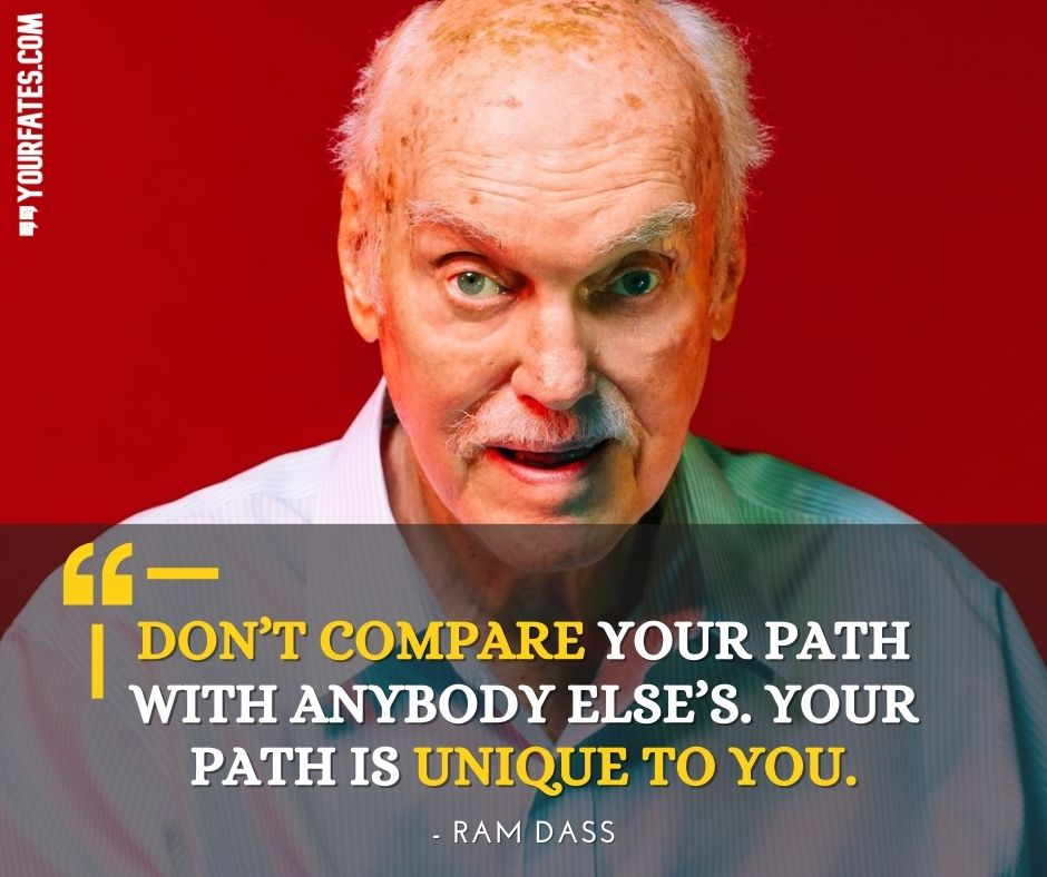 Ram Dass Quotes On life