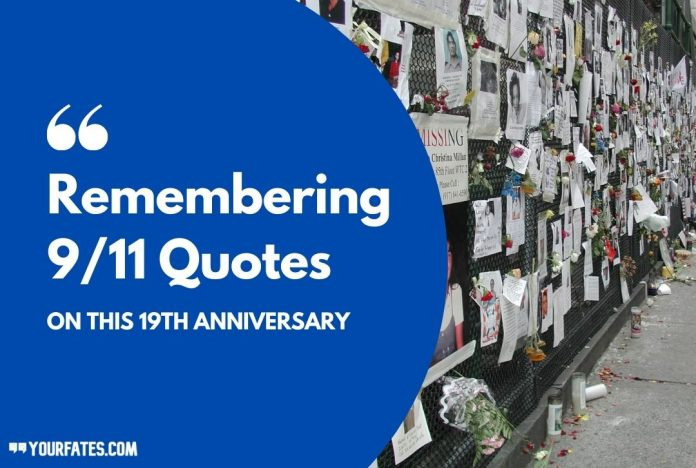Remembering 9/11 Quotes