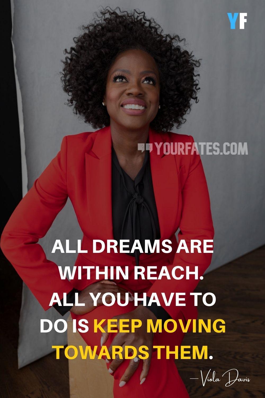 Motivational Quotes by Viola Davis
