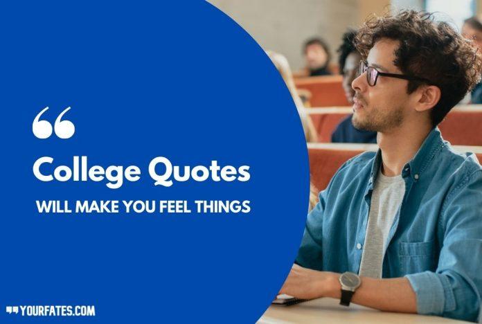 best college Quotes