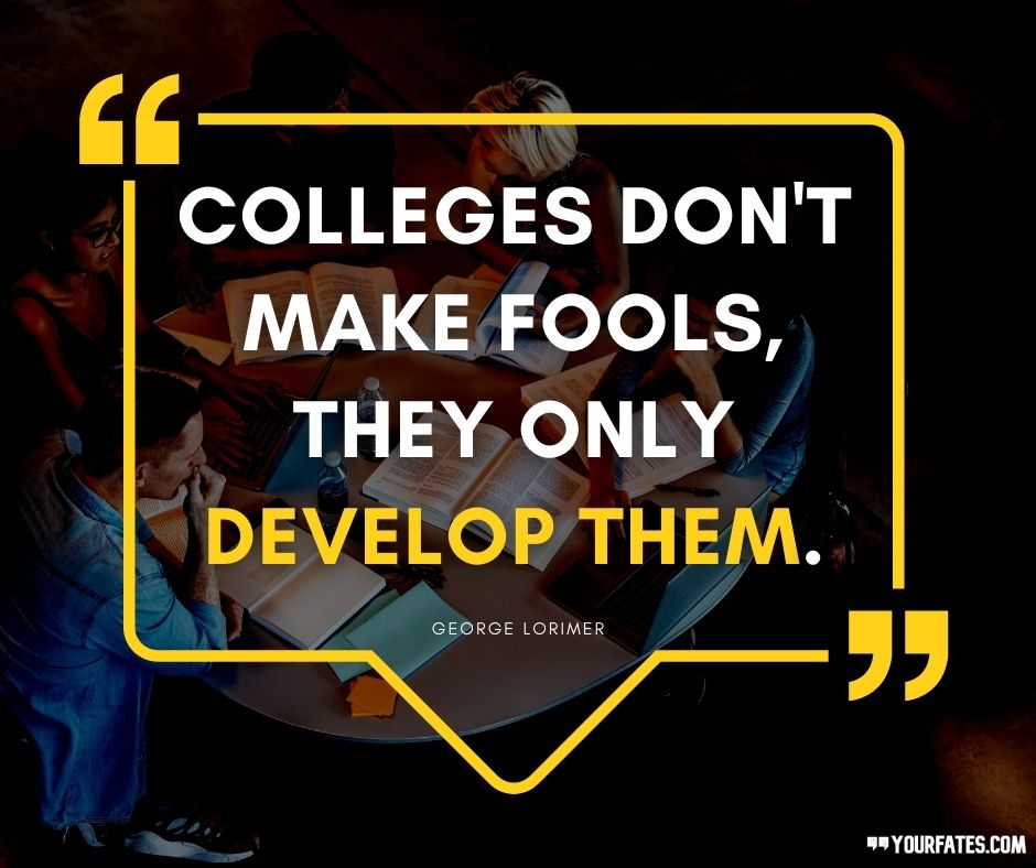quotes about College