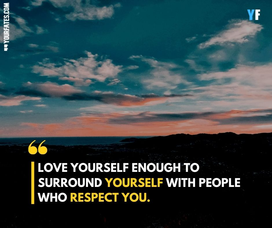 self respect quotes in english