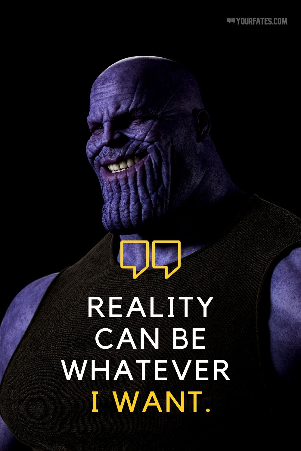 top thanos quotes