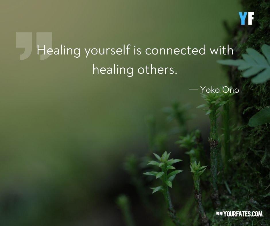Healing Quotes By Yoko Ono