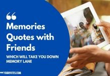 Memories Quotes with Friends