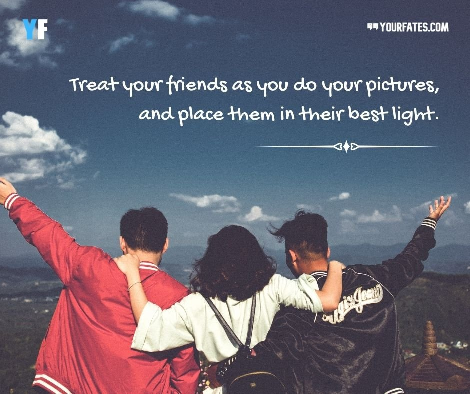 Memories Quotes with Friends Images (1)