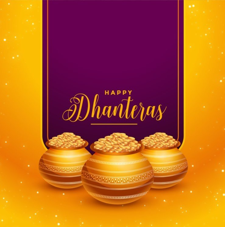 Happy Dhanteras Wishes Images 2020