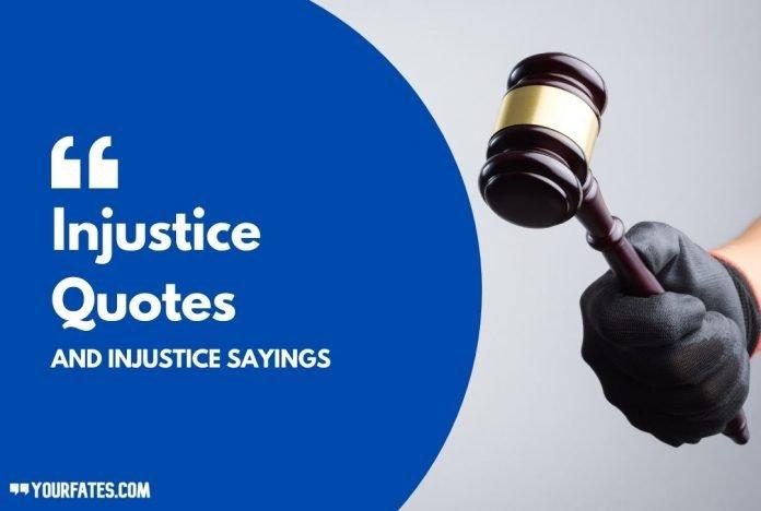Injustice Quotes