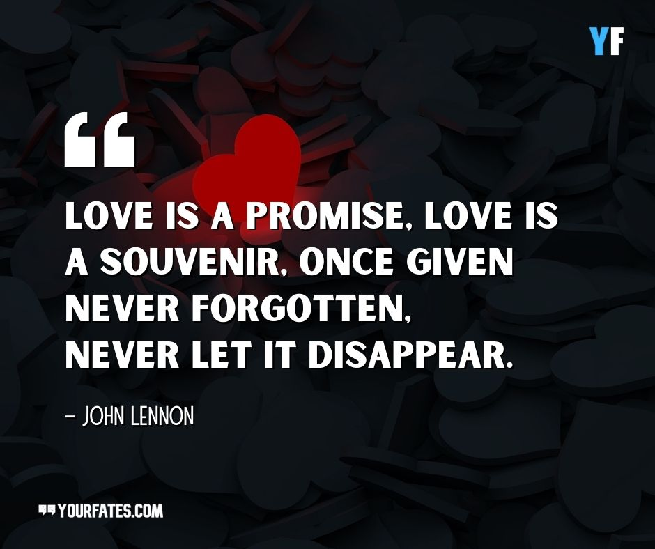 John Lennon Quotes on love