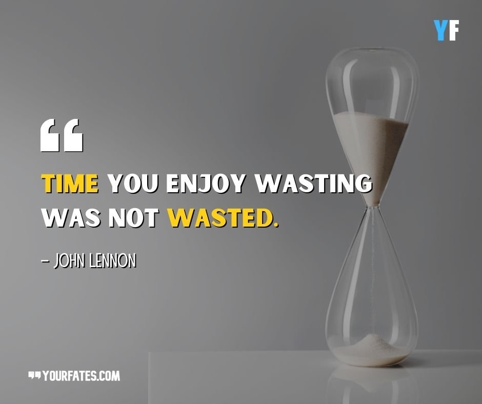 John Lennon Quotes on time