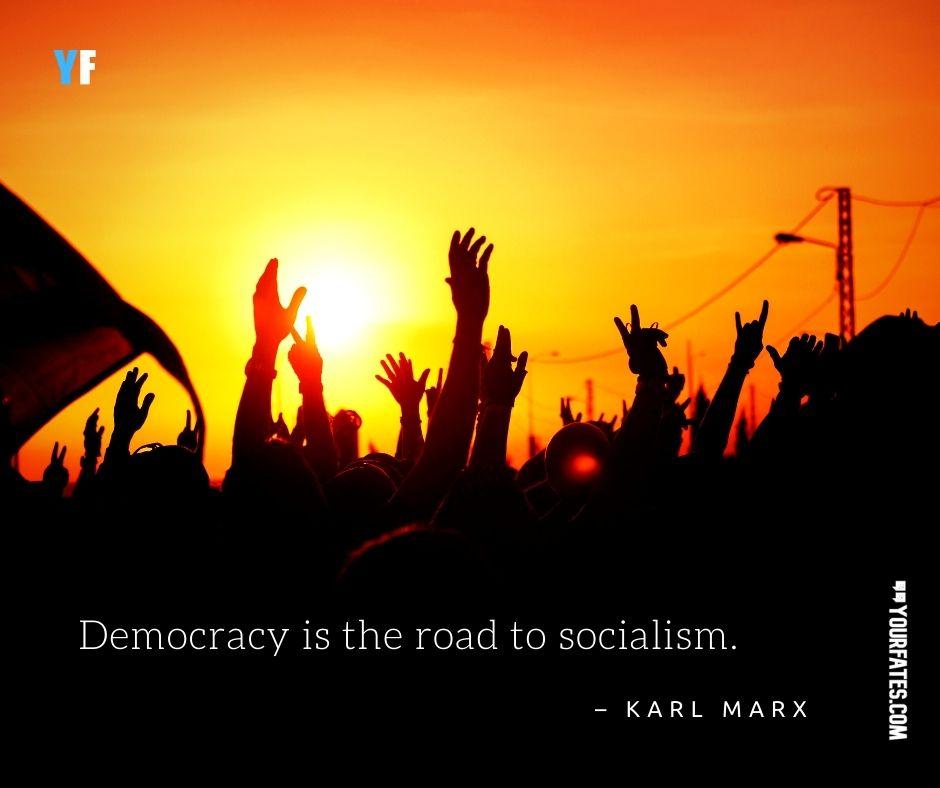 Karl Marx on Democracy