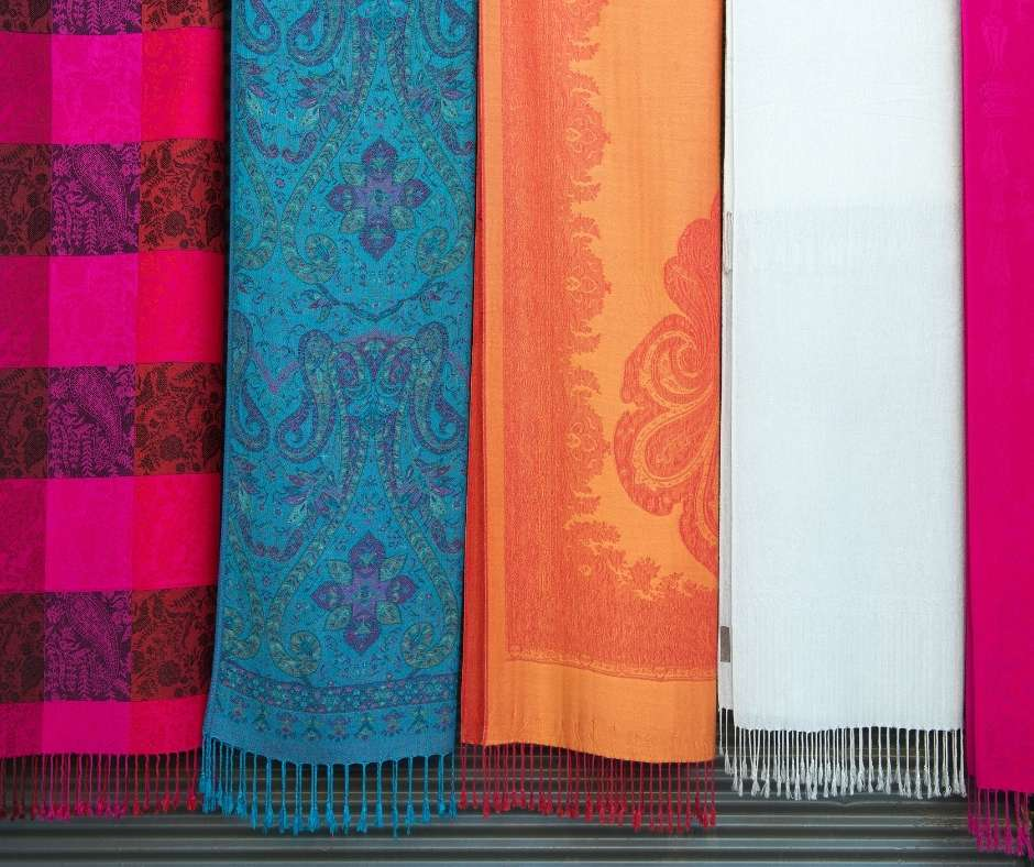 6-Month Anniversary Gifts for Her Pashmina Shawl