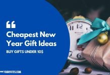Cheapest New Year Gift Ideas