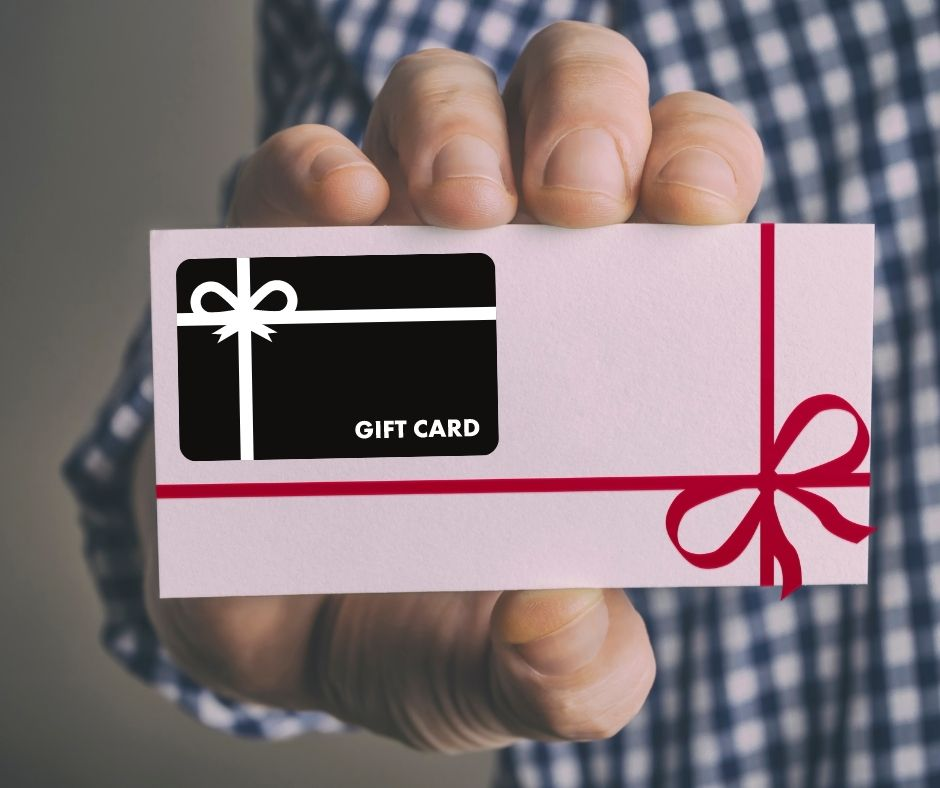 Gift Ideas for Her Gift Card