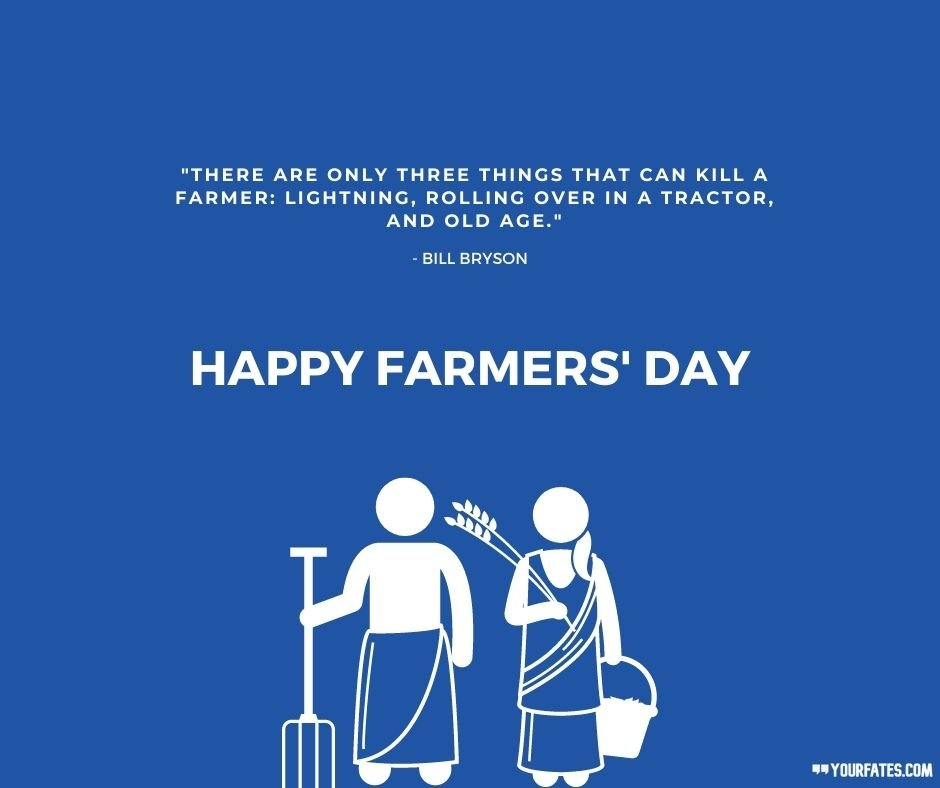 Happy Farmers Day quotes