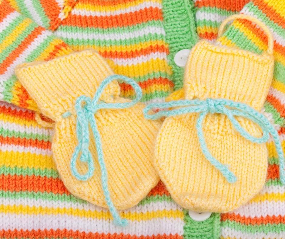 baby shower gift idea-Woolen Baby Clothes