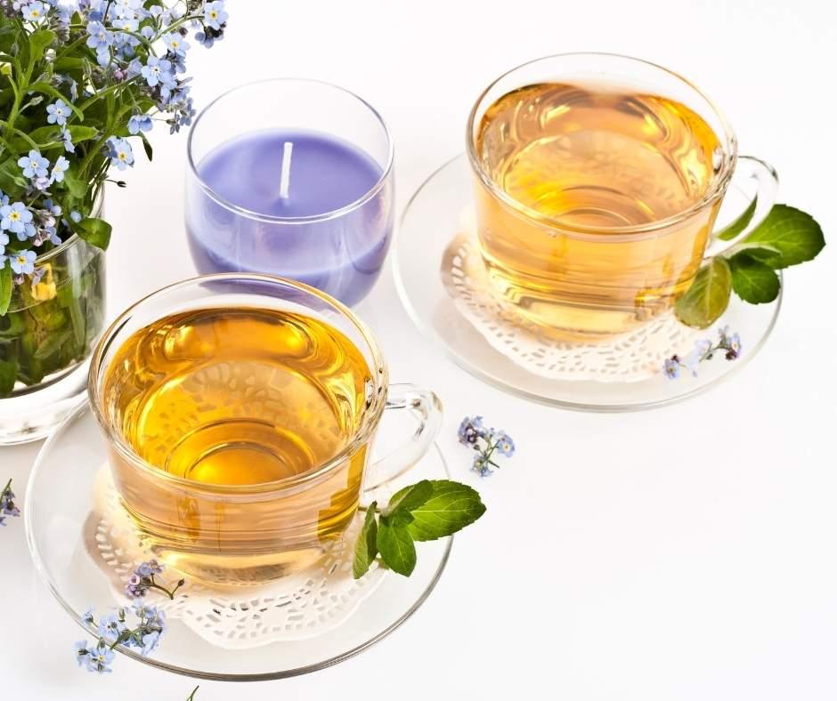 baby shower herbal tea