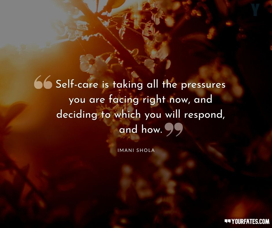 inspirational quotes about self care