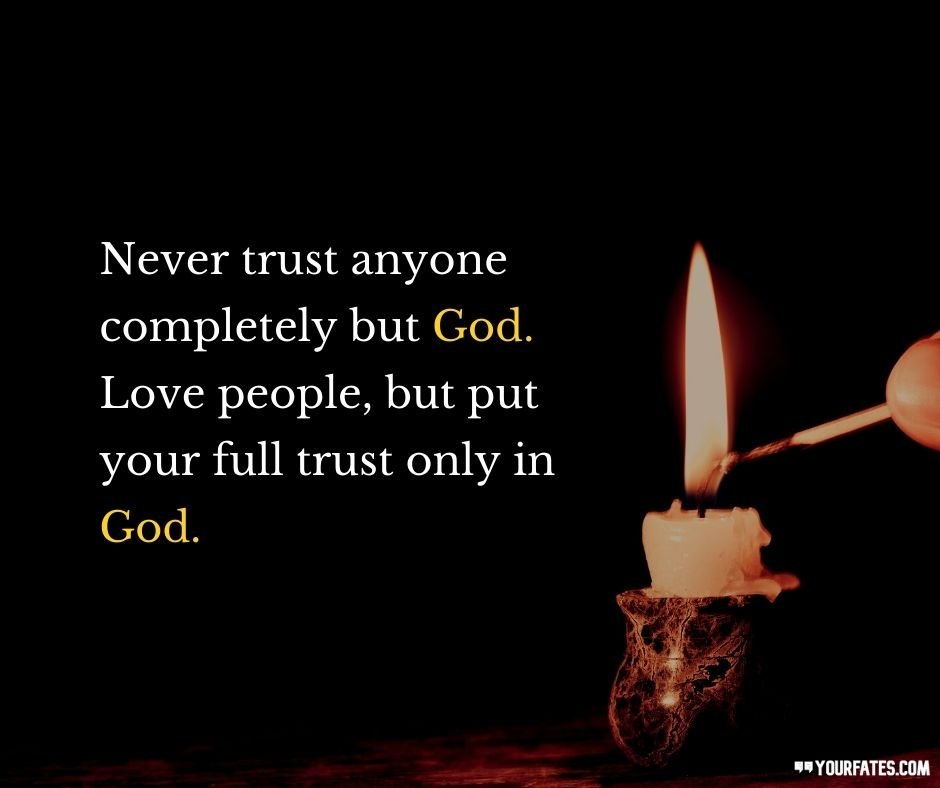 Trust God Quotes