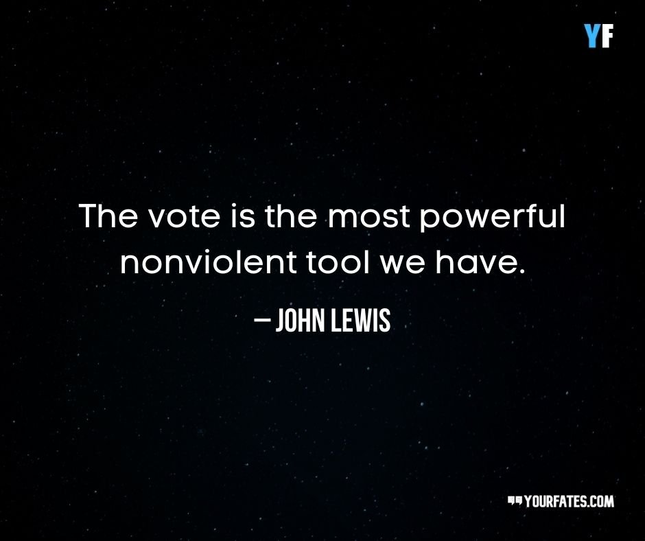John Lewis Quotes on Vote