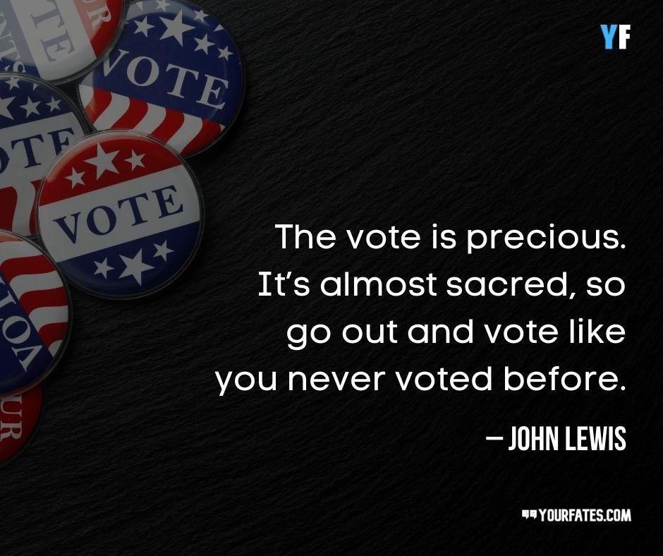 John Lewis Quotes on voting