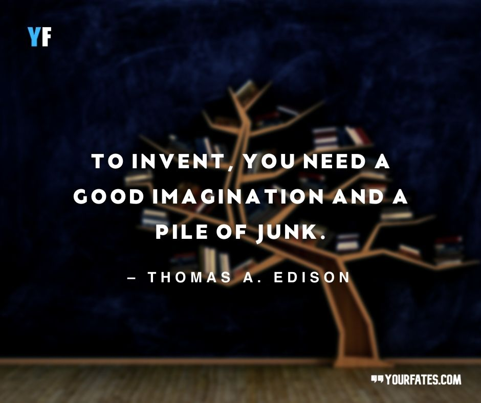 Science Quotes by Thomas A. Edison
