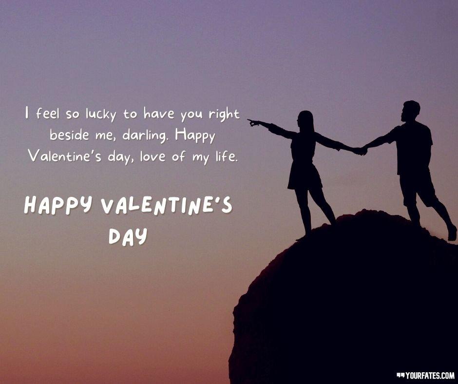 Valentine's Day Wishes for Girlfriend and Boyfriend