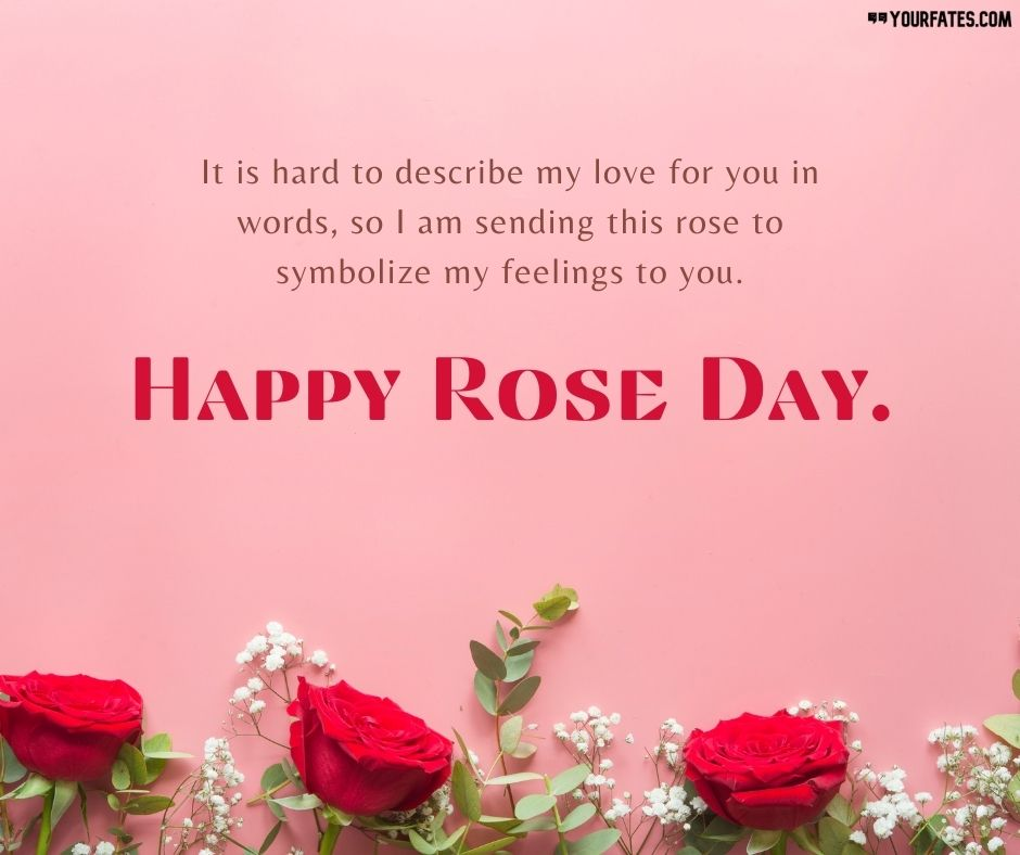 Rose Day Quotes for Friends