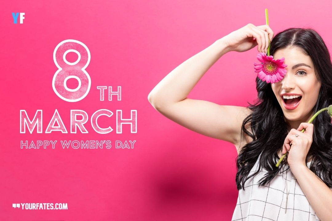 8th march happy womens day