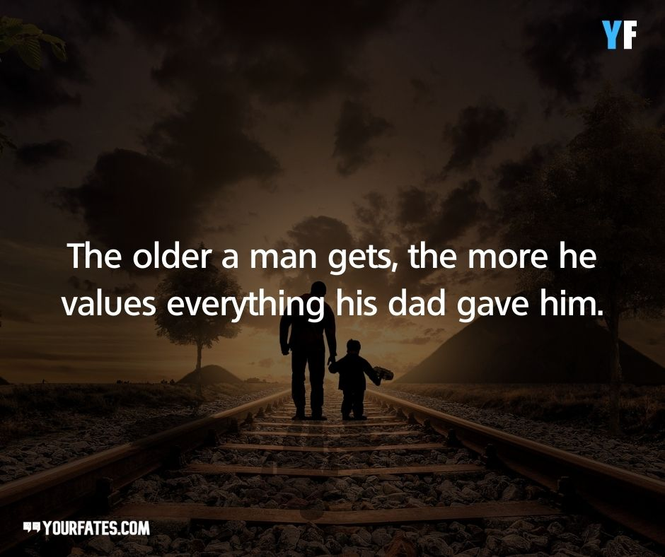 quotes about father and son