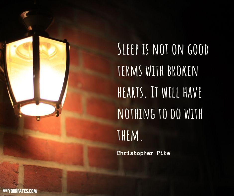 Romantic Sleep Quotes