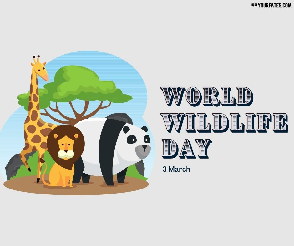wildlife day wishes